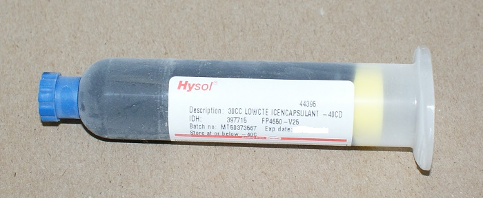 Hysol Henkel FP4650 V25 encapsulant chip on board